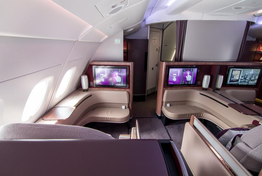 Baymac - Baymac Qatar Airways First Class A380